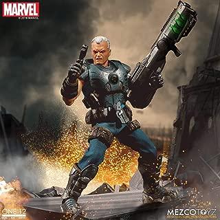 Mezco One: 12 Collective: Marvel Cable Action Figure, Multicolor