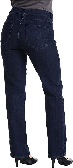 Petite Marilyn 5-Pocket Slim Leg Denim Pant