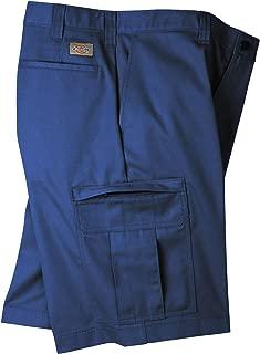 Dickies Men's Premium Industrial Cargo Short, Navy Blue, 36