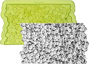 Marvelous Molds Sequin Jubilee Simpress Silicone Mold | Cake Decorating with Fondant Gum Paste