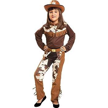 Cowgirl - Disfraz niña, talla 10-12 años (U37 715): Amazon.es ...