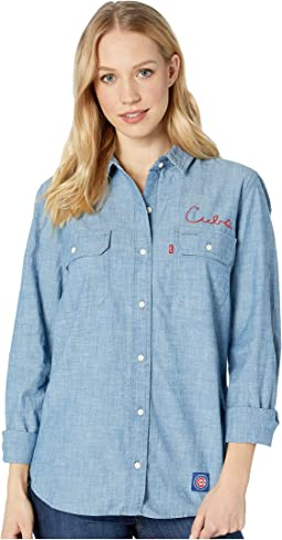 Chicago Cubs Chambray Shirt