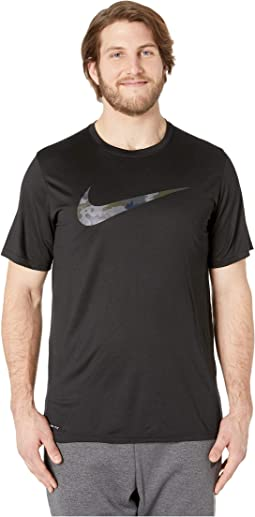 Big & Tall Dry Legend Tee Camo Swoosh