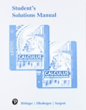 Student Solutions Manual for Calculus and Its Applications 2e and Calculus and Its Applications, Brief Version 12e