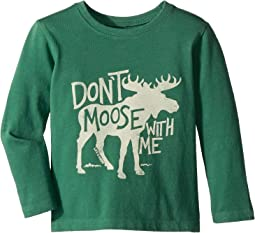 Don't Moose with Me Crusher Long Sleeve T-Shirt (Toddler)