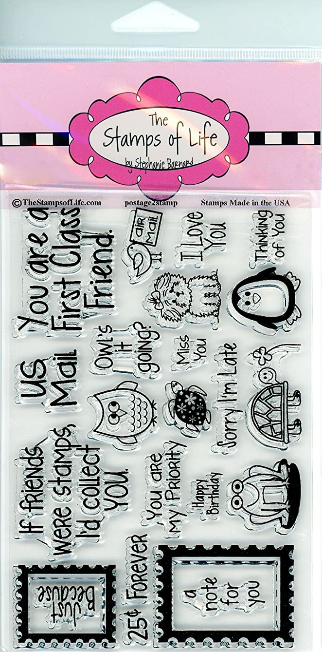 Super-Cute Animal Clear Stamps for Scrapbooking and Card-Making by The Stamps of Life - Postage2Stamp Sentiments