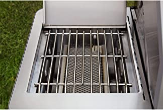 Monument Grills Stainless Steel 4-Burner Propane Gas Grill + 54-Inch Grill Cover
