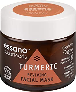 Essano Superfoods Reviving Facial Mask, 50g ,Turmeric
