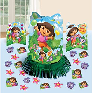 Table Decorating Kit   Dora's Flower Adventure Collection   Party Accessory