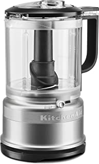 KitchenAid 5-Cup One Touch Food Chopper | Contour Silver (Renewed)