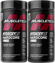 Weight Loss Pills for Women & Men | Hydroxycut Hardcore Elite | Weight Loss Supplement Pills | Weightloss + Energy Pills |...