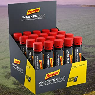 PowerBar Amino Mega Liquid, 20 x 25 ml Ampullen, Neutral