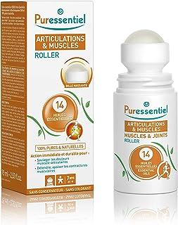 Puressentiel - Articulations et Muscles - Roller aux 14 Huiles Essentielles - Soulage les douleurs musculaires et articula...