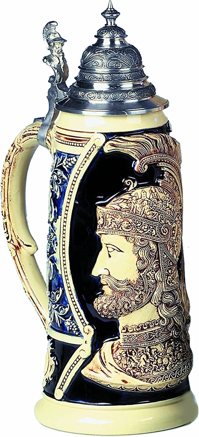 King In a popularity German Beer Stein Mars god of battle and troy the war Ranking TOP10 for