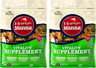 Manna Pro Vitality Equine Supplement for Horses, 11.25