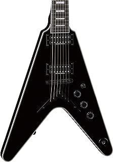 Dean V Select 7-String Electric Guitar, Classic Black