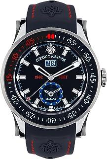 [クエルボ・イ・ソブリノス]Cuervo y Sobrinos 腕時計 紳士用 ダイバー 2808-1N メンズ 【正規輸入品】