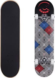 Cal 7 Complete Skateboard, 7.5 Inch