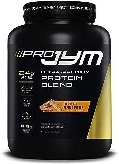Pro JYM Protein Powder, Egg White, Milk, Whey Protein Isolates & Micellar Casein, JYM Supplement Science, Chocolate Peanut...
