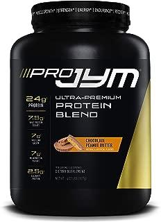Pro JYM Protein Powder - Egg White, Milk, Whey Protein Isolates & Micellar Casein   JYM Supplement Science   Chocolate Peanut Butter Flavor, 4 lb