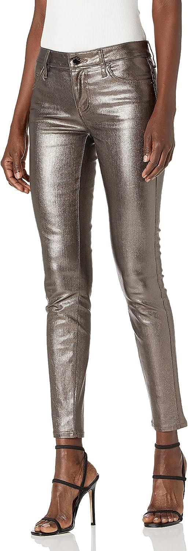 GUESS Women's Hi Finally resale Max 79% OFF start Gloss Metallic Curve Jean Sexy