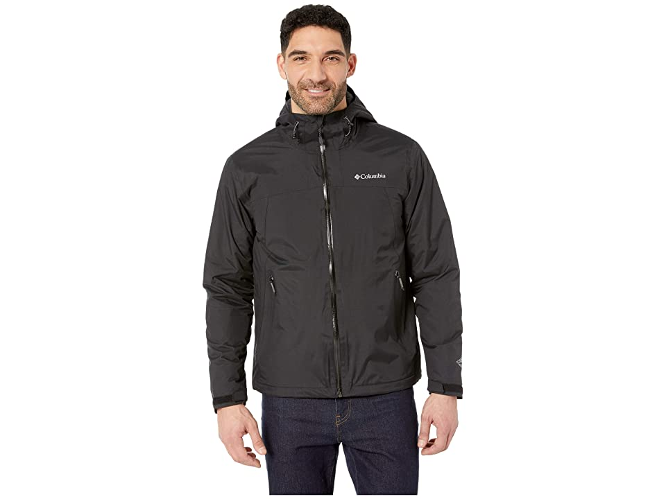 Columbia Top Pinetm Insulated Rain Jacket (Black/Graphite) Men