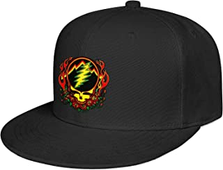 Flatbrim Baseball Caps Snapback Adjustable Design Fashion Sun Hat for Adult