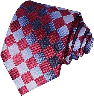 AVANTMEN New Neckties for Men 1&6 Pack Classy Men's Ties Woven Jacquard Ties