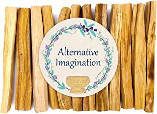 Alternative Imagination Premium Palo Santo Holy Wood Incense Sticks, for Purifying, Cleansing, Healing, Meditating, Stress Relief. 100% Natural and Sustainable, Wild Harvested. (12)