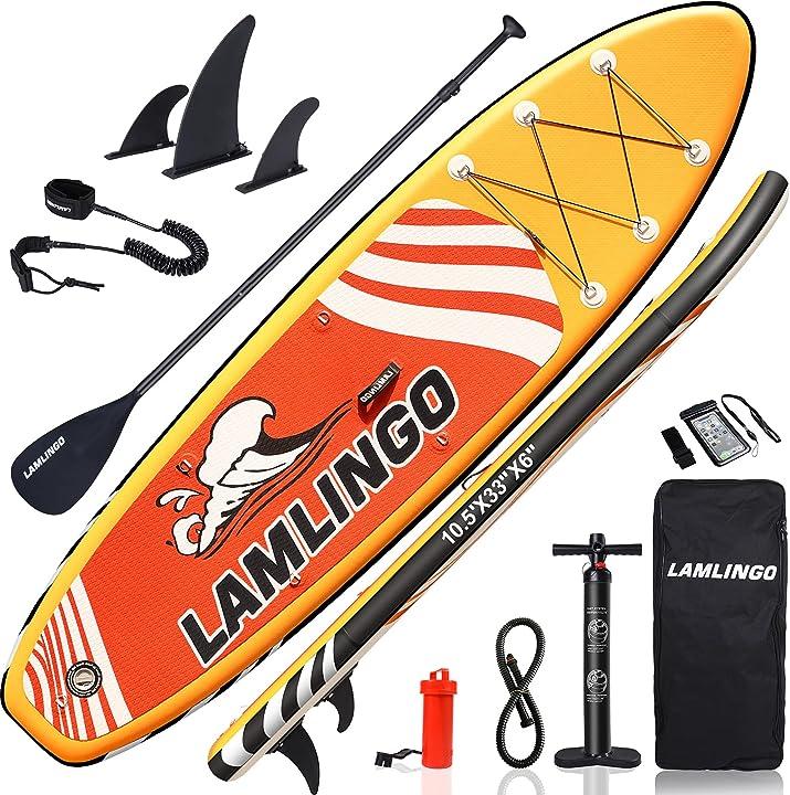 Paddle board stand up rolimate tavola da sup 320×83×15cm sup gonfiabile, capacità di carico di 155 kg B08XWBR9NP