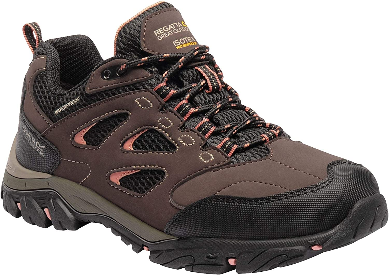 Regatta Womens Ladies Holcombe IEP Low Hiking Boots