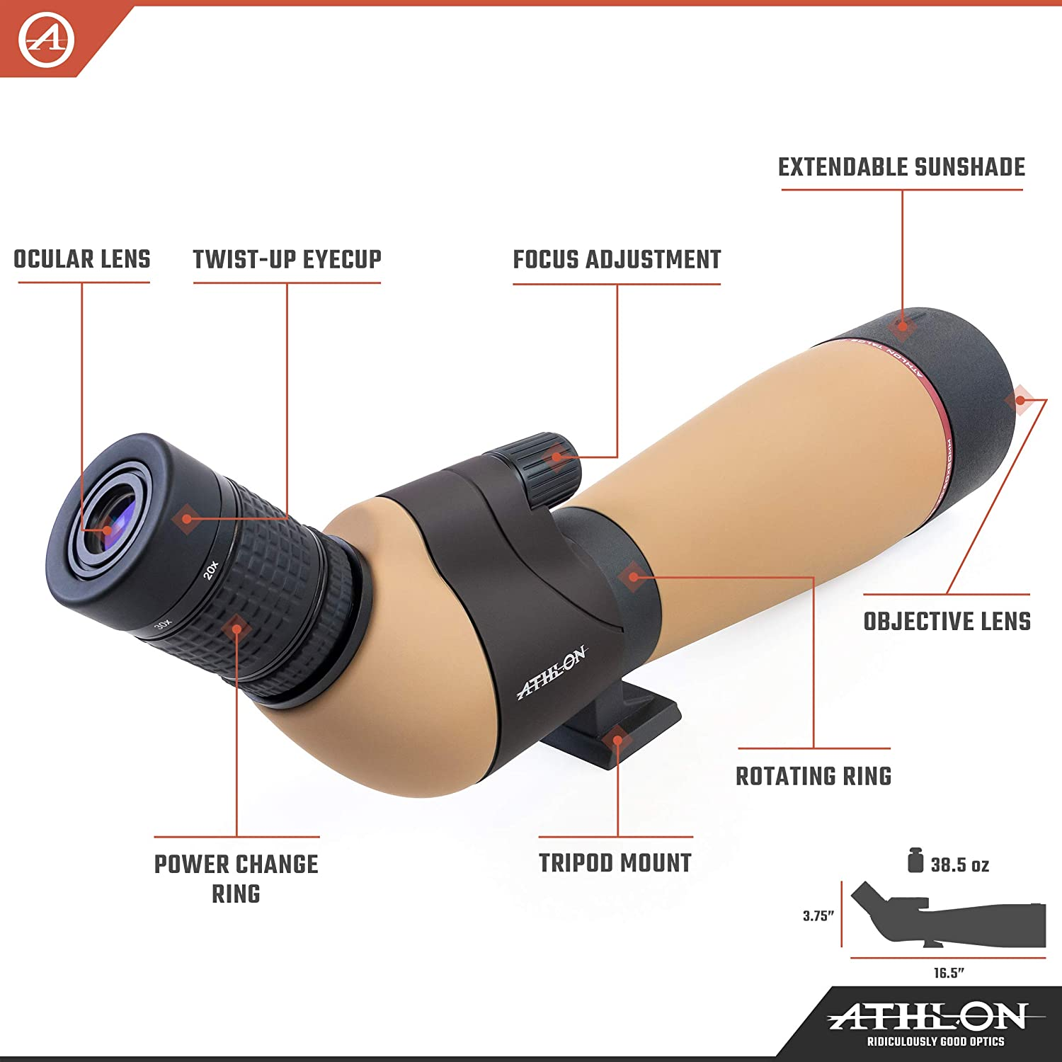 Top 9 Best Spotting Scopes For Wildlife Viewing [Buying Guide - 2021] 3