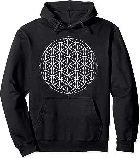 Sacred Geometry Flower of Life pullover hoodie