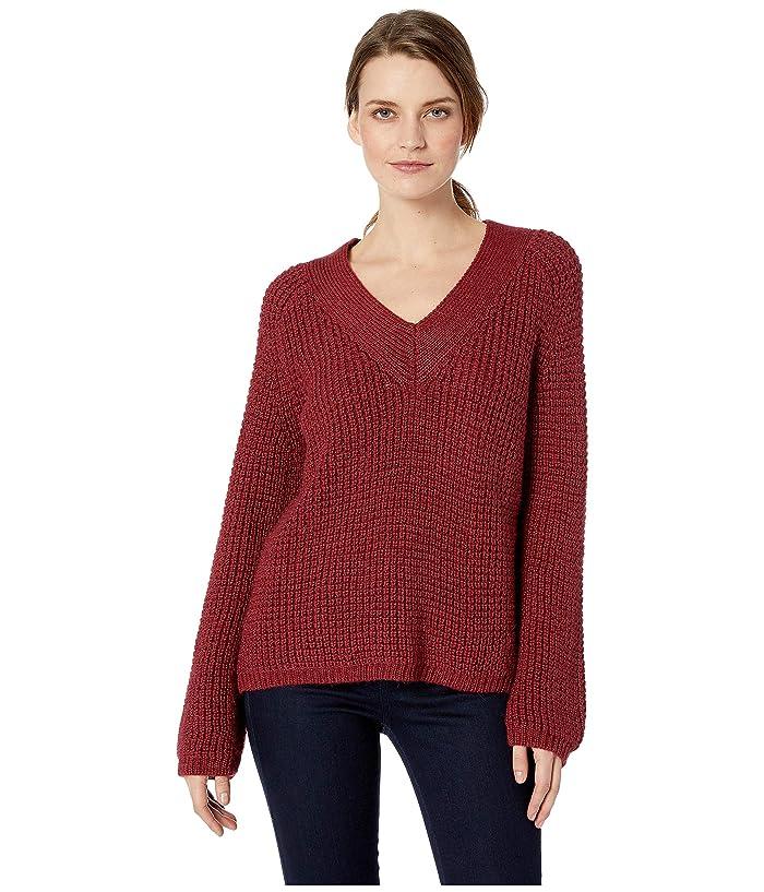 Pendleton Womens Emery V-Neck Pullover Sweater