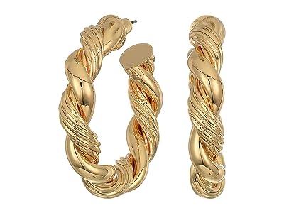8 Other Reasons Swerve Hoops Earrings (Gold) Earring
