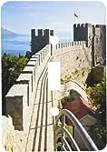 3dRose lsp/_82218/_2 Macedonia Ohrid Car Samoils Castle Walls Eu16 Wbi1939 Walter Bibikow Double Toggle Switch