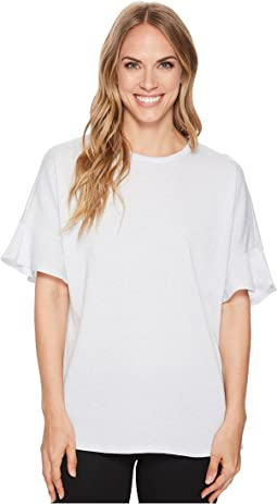 MICHAEL Michael Kors Lurex Cutaway Neck Top