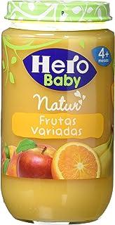 comprar comparacion Hero Baby - Infantil Frutas Variadas. A Partir De 4 Meses. Sin gluten 235 gr - Pack de 12 (Total 2820 gr)