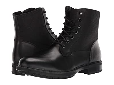 Steve Madden Self Made Chuck (Black Leather) Men
