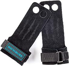 Earwaves ® Raptor Grips 2 & 3 gaten - Leer CrossFit handschoenen voor mannen en vrouwen. Hand Grips gymnastiek, gymnastie...