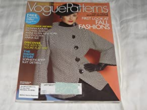 Vogue Patterns August/September 2007 Anna Sui, Alice + Olivia, Suit Details, Fall Fashions