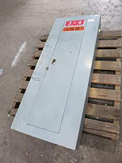 Square D 150A 208Y/120 V Main Breaker Panel Board Type NQOD 150 Amp NQODQ2 225A