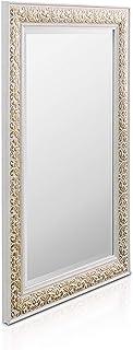 Specchio da parete con cornice rotonda a specchio Rehomy decorazione da parete con frangia macram/è per la casa e la cameretta dei bambini