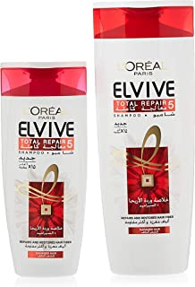 Loreal Elvive Total Repair 5 Shampoo - 400 ml+200 ml