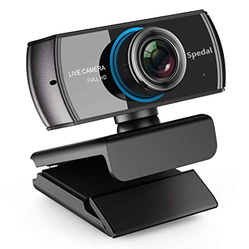 Spedal Full HD Webcam 1536p, Beauty Live Streaming Camera, USB Webcam para OBS XSplit
