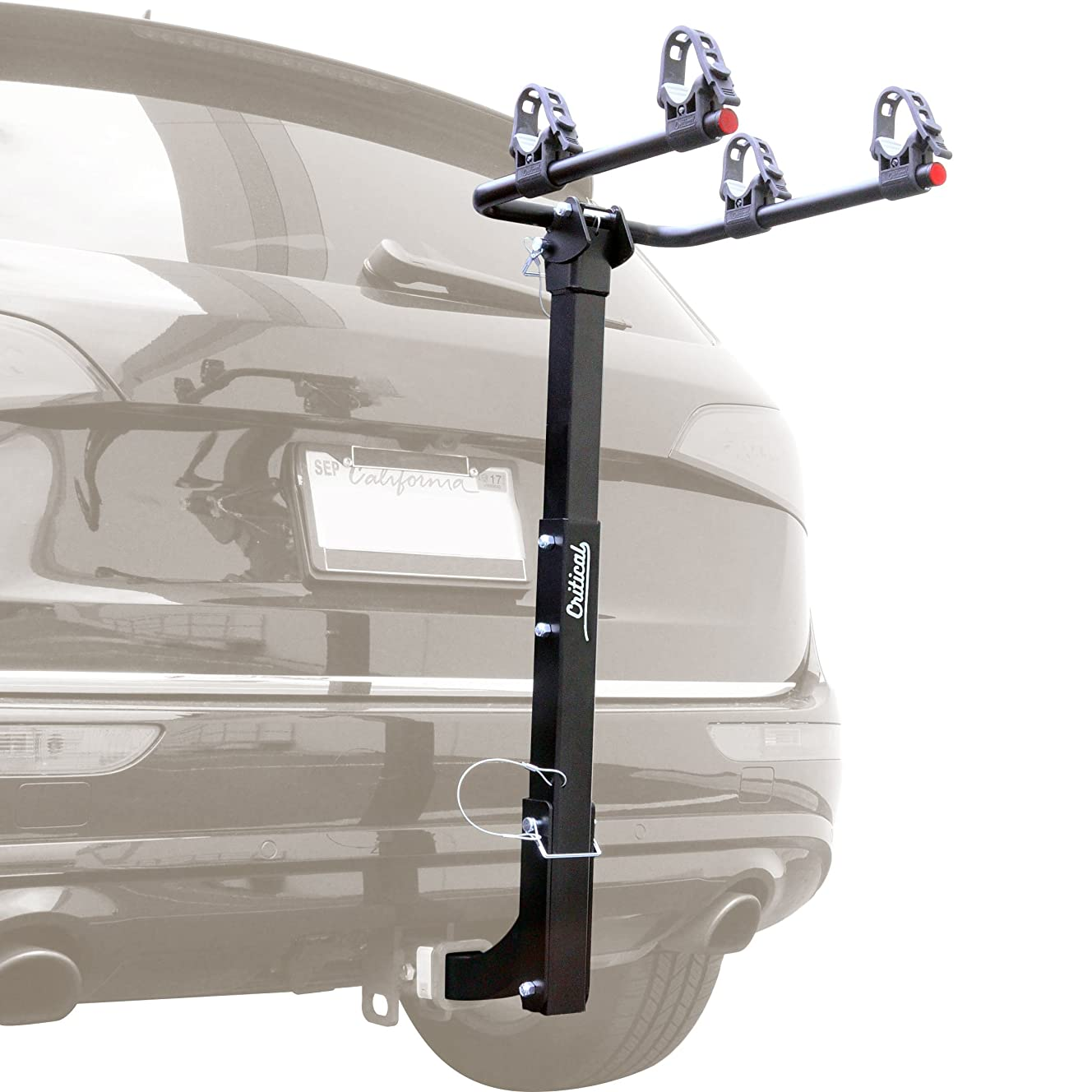 Critical Cycles Lenox 2-Bike Hitch Mount Rack with 2-Inch Receiver