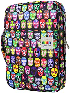 comprar comparacion YOUSHARES 166 slots caja de lápices de colores, 110 ranuras gel plumas FO organizador de la caja para colorear, práctico s...