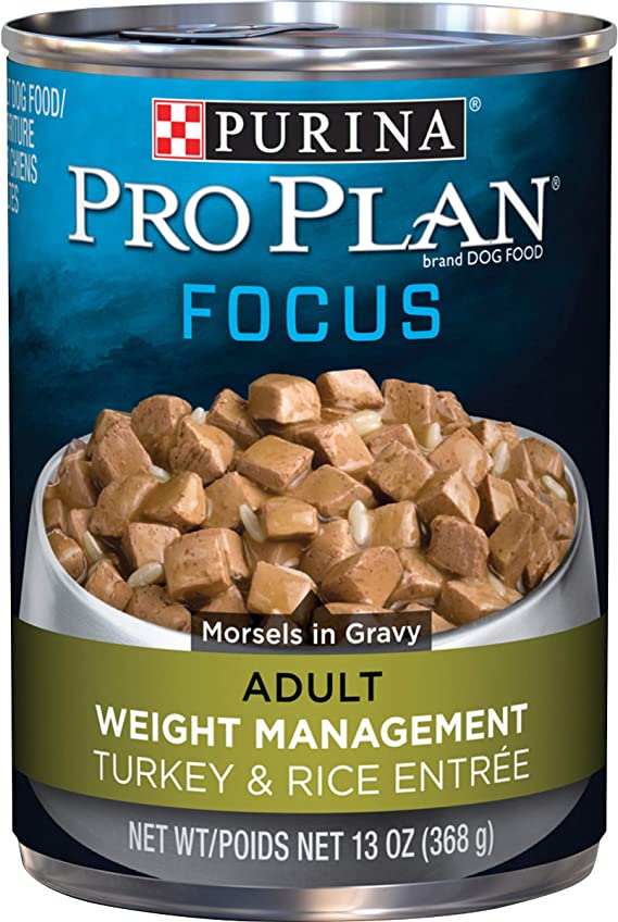 Purina Pro Plan Weight Management Adult Dry Dog Food and Wet Dog Food   Amazon