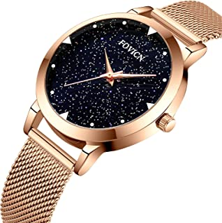 Women's Watches Gorgeous Luxury Dress Casual Fashion Waterproof Blue/Gold/Black/Pink Watches Diamond Rhinestone Quartz Wrist Watch