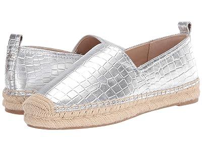 Sam Edelman Khloe (Soft Silver Metallic Croco Leather) Women